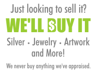 We Buy Silver Jewelry Antiques Artwork and More